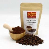 Clous de girofle moulu de Madagascar - 25g